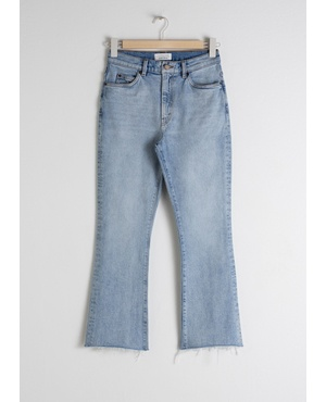 5b3b1defe04 Kick Flare High Rise Jeans by & Other Stories