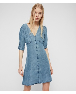 bc9de708832796 Kota Tencel Dress by All Saints