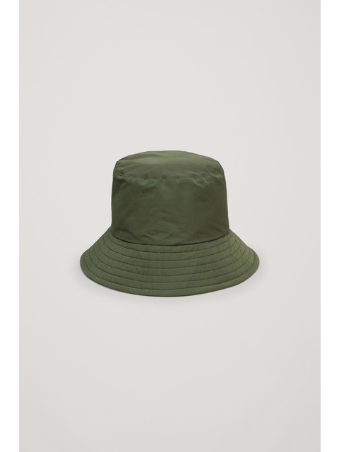 Padded Waxed-Cotton Bucket Hat  12f63954768b