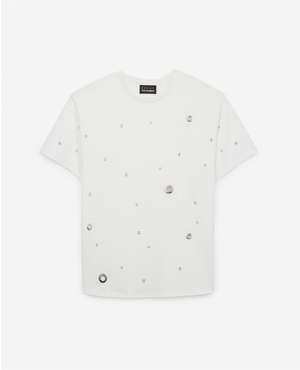 27f16abb4b The Kooples White Fitted Tops | Endource