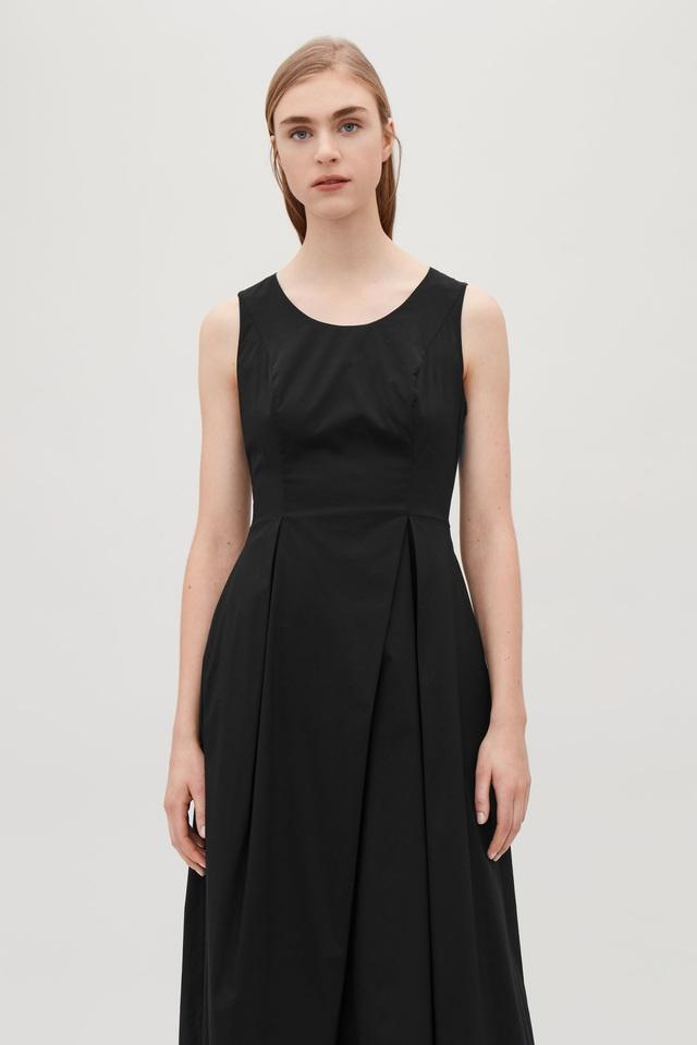 721dc7ab16ef Flared Sleeveless Dress   Endource