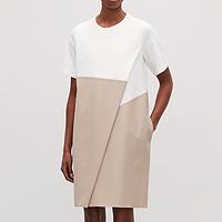 385d307065db Poplin-Panelled Dress | Endource