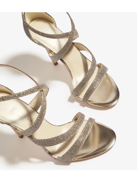 c40f0cdfb98 Glitter Heeled Sandals | Endource