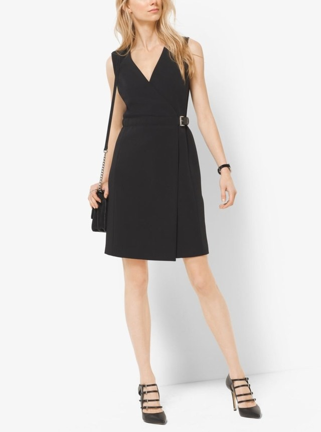 belted wrap dress endource