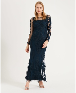 93103a1d2a7 Leticia Tapework Maxi Dress by Phase Eight