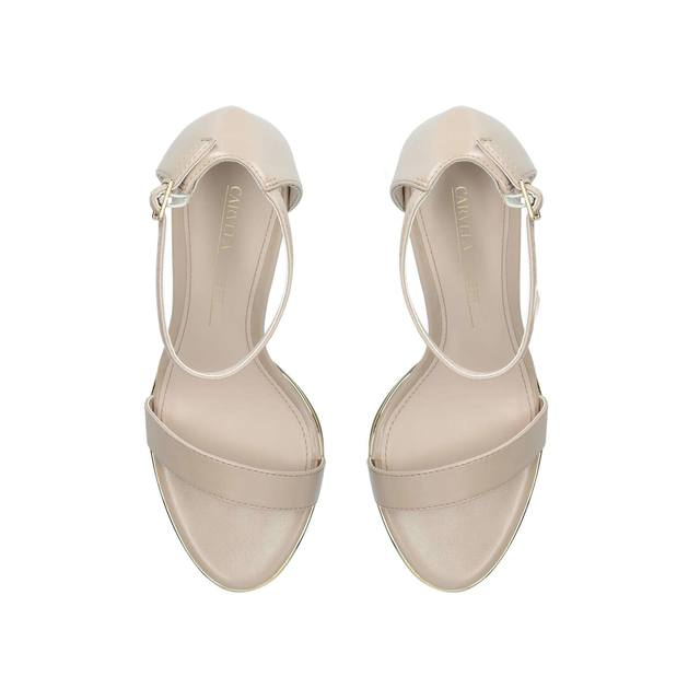 c90f41e895b Wide Fit Kink Wide Fit Silver Strappy Sandals