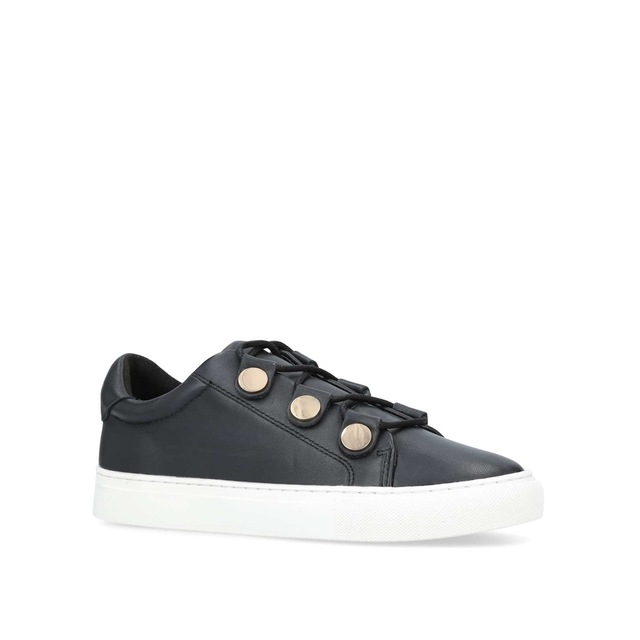 Kurt Geiger Larin Low Top Trainers, Animal Leather