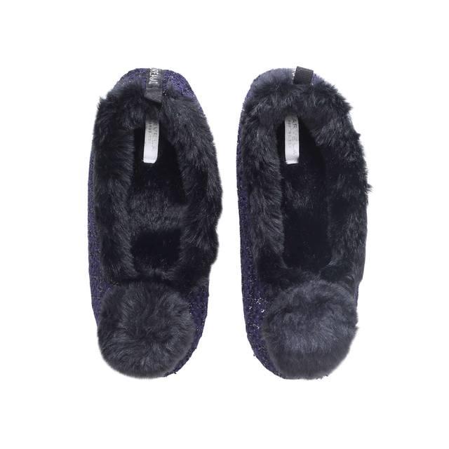 4dfca7b4c51f Olivia Pom Pom Slippers