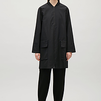 Coat with ribbed neckline endource for Boden jennie coat