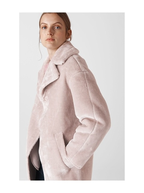 c2d09cf83b Faux Fur Cocoon Coat | Endource