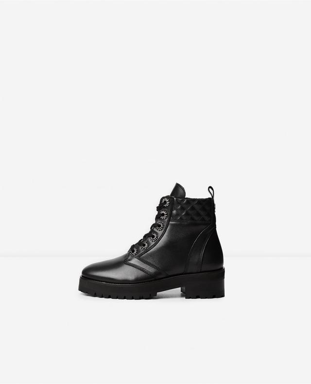 The Kooples SPORTWITH STUDS - Platform boots - black DtoVTh