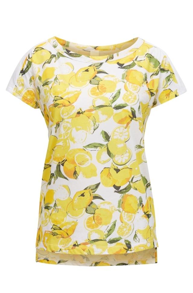 Lemon Print T Shirt Endource