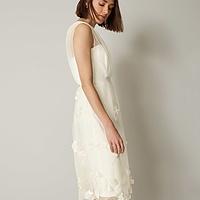rae embroidered bridesmaid dress. £250. prev. next