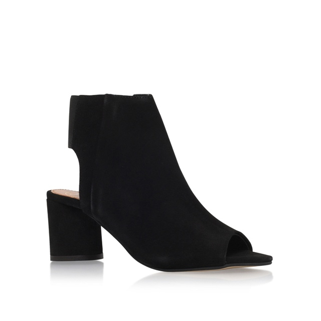 3d428d4032c Raw Mid Heel Ankle Boots