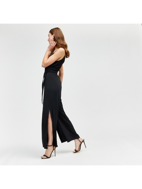 0e5be15d832 Strappy Split Leg Jumpsuit