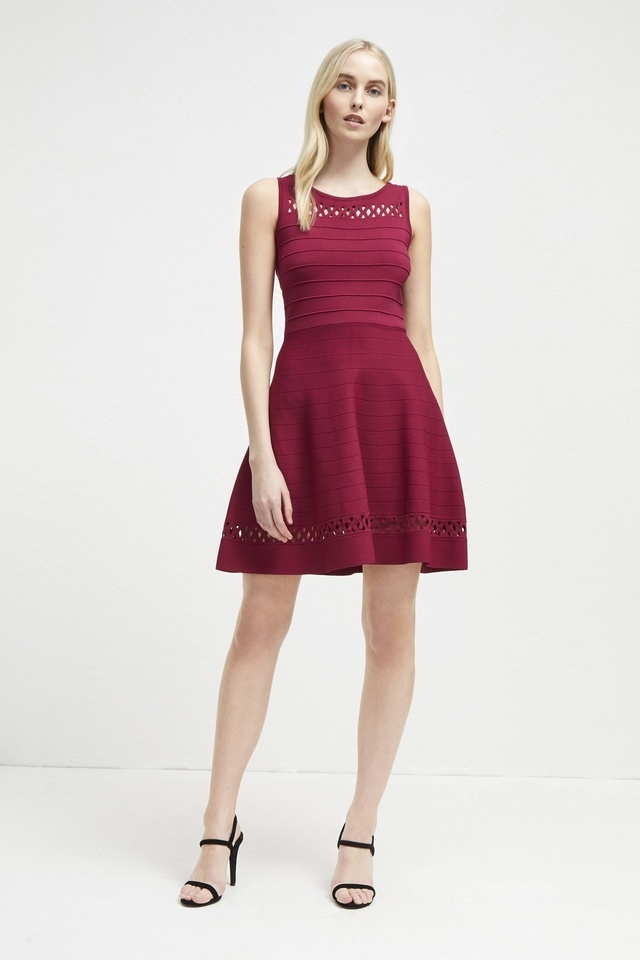 567361727cd9 Kai Knit Fit and Flare Dress | Endource