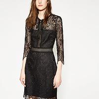 e5067e10e9b Embroidered Lace Dress | Endource