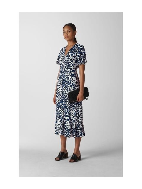 03958f241857 Brushed Leopard Button Dress | Endource