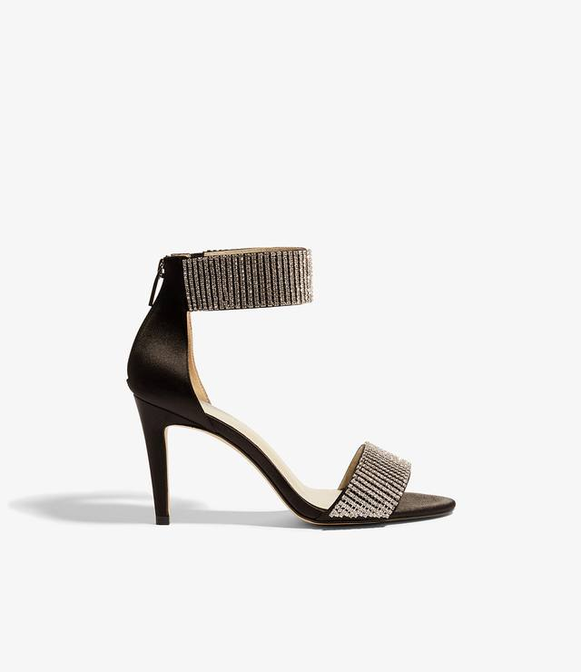 Karen Millen Gem Embellished Sandals