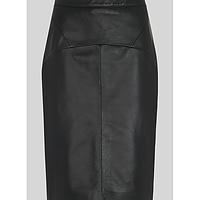 ab2fd15ac2 Kel Leather Pencil Skirt | Endource