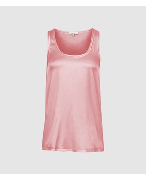 9ca38242a26e8f Remey Silk Front Vest by Reiss