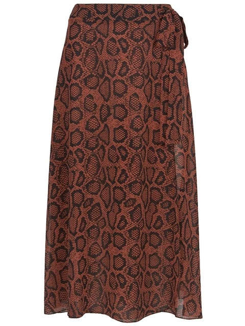 5d0acfc71c Molly Animal Print Wrap Skirt