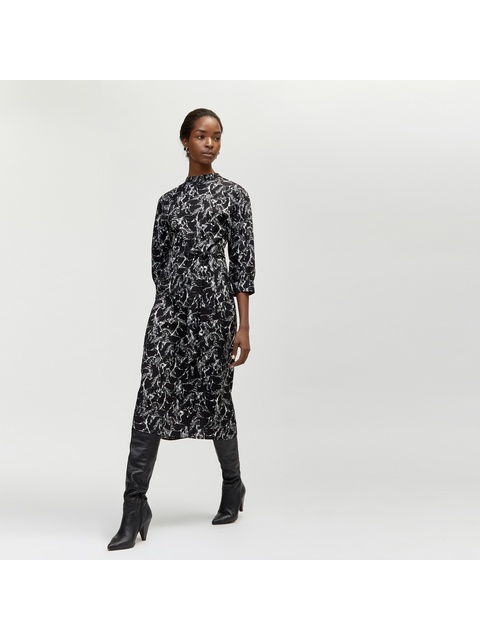 6c87ef5dc2 Horse Print Midi Dress | Endource