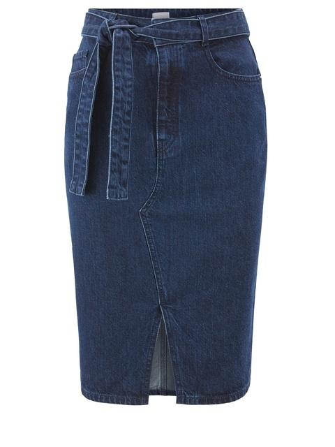 f9a7da1738 Spanish Recycled Denim Skirt | Endource