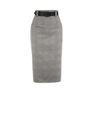 ce741e50c077 Checked Pencil Skirt by Karen Millen