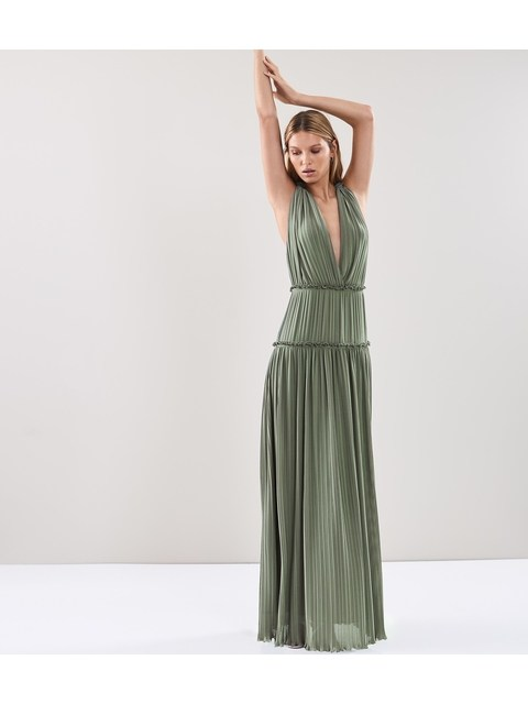548504c4ce0 Gigi Pleated Maxi Dress