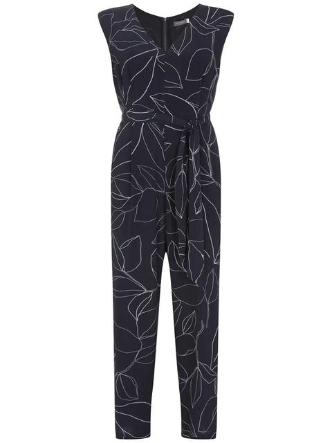 5da819df0121 Summers Print Jumpsuit