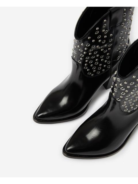 9ee3288d3a5 Studded Cowboy Boots | Endource