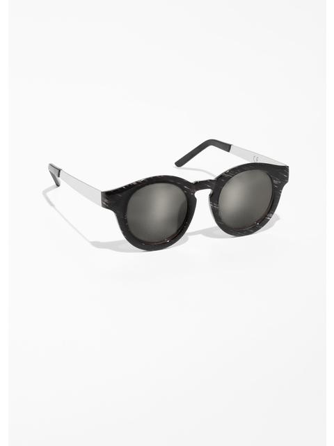 Sunglasses Frame Round Mirrored Frame Round Mirrored Sunglasses JlTK1cF
