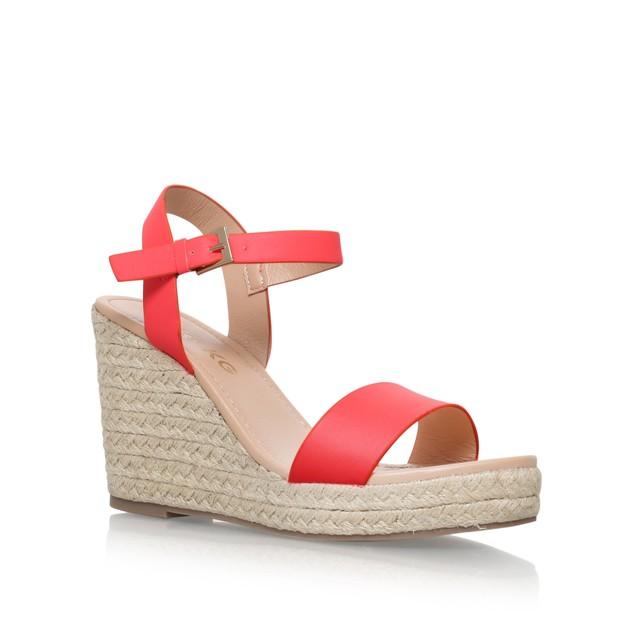 7abc0b0777f Paulina Mid Heel Wedge Sandals