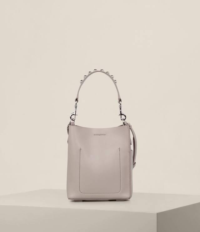 Allsaints Suzi Mini Tote (Taupe/Grey) Tote Handbags wBOi8bIlb