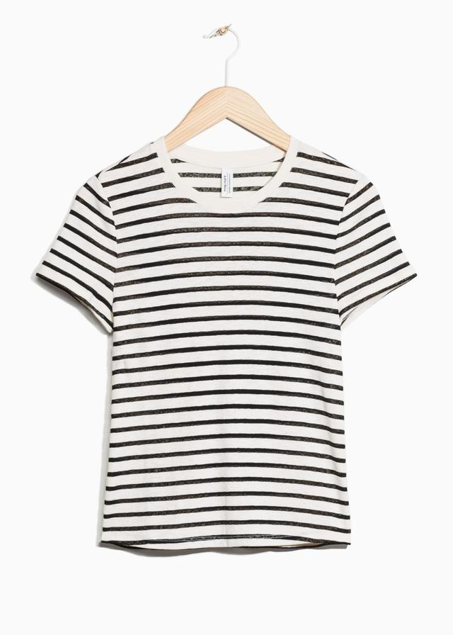 Cheap Sale Best Sale & OTHER STORIES Striped Cotton Tee Reliable Cheap Price Clearance Low Shipping Fee Cost Big Sale WZBYQX1OR