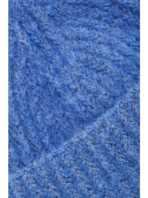 Fuzzy Ribbed Wool Hat  d20b003a7fce