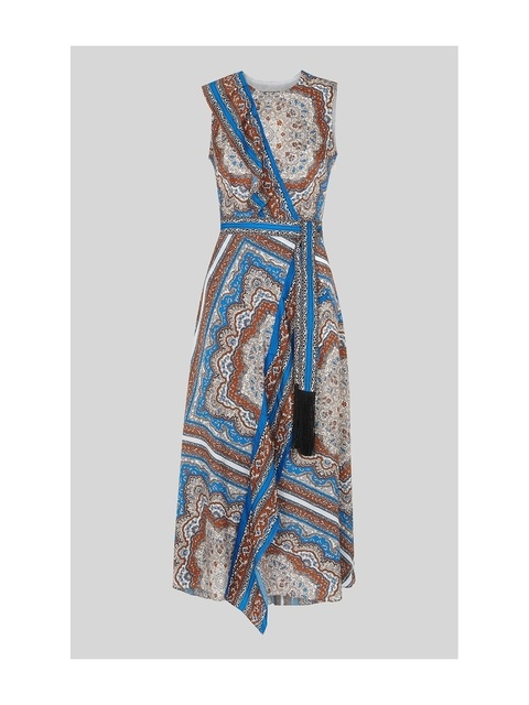 fa08d72fc1f Aadya Scarf Print Dress