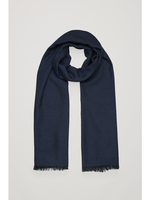 04a688142 Sheer Wool-Twill Scarf | Endource