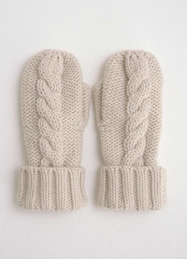 Cable Knit Mittens Endource