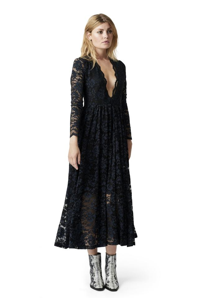Flynn lace dress Ganni Outlet Footlocker Pictures Wholesale Price Sale Online Free Shipping 2018 Pay With Paypal For Sale q0uOX