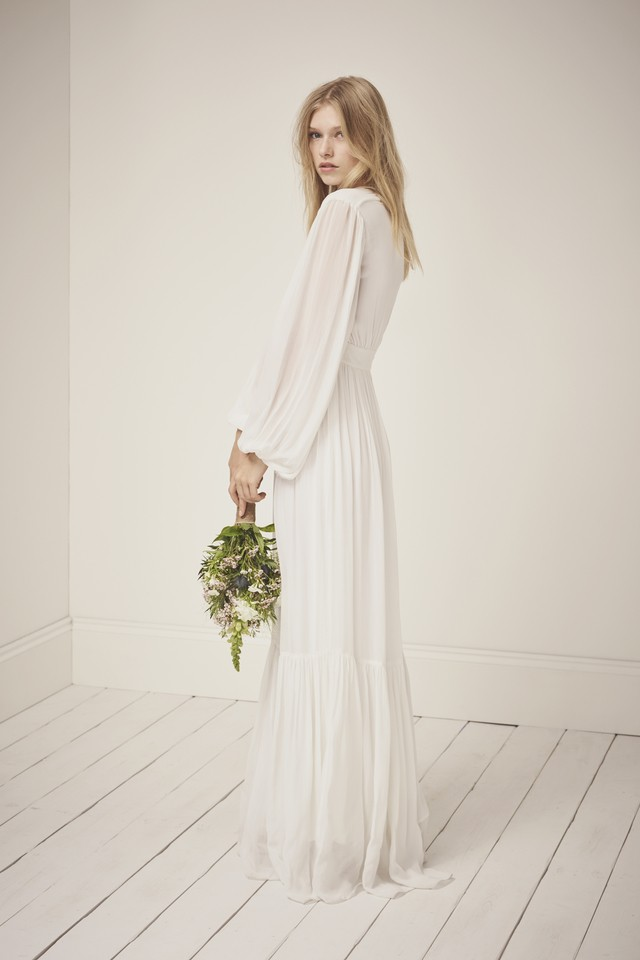 Cari Sparkle Maxi Wedding Dress | Endource