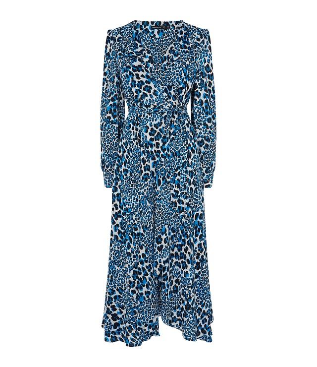 706d4ac197 Leopard Print Midi Dress