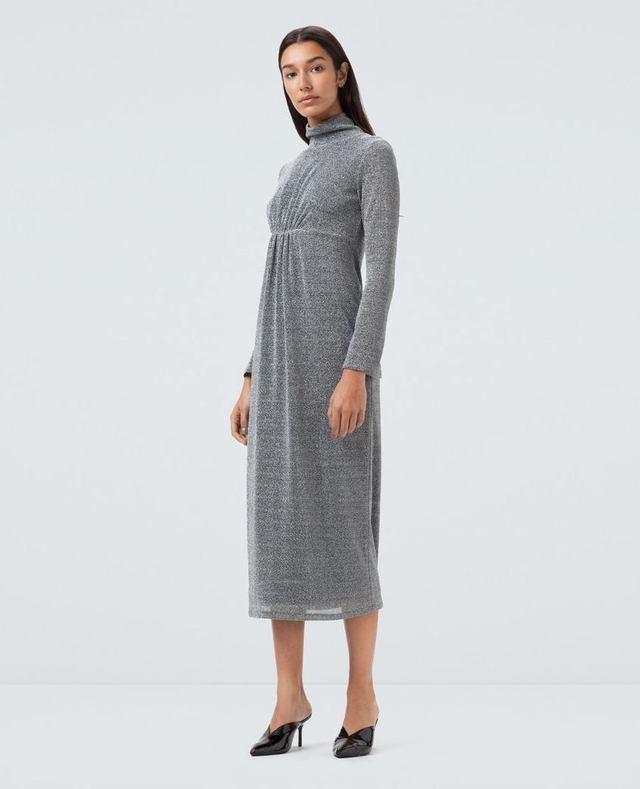 Baird Silver Lurex Dress Finery OuccyYnPf