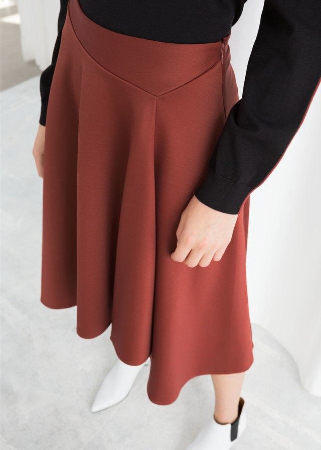 98dae684bd Voluminous A-Line Skirt | Endource