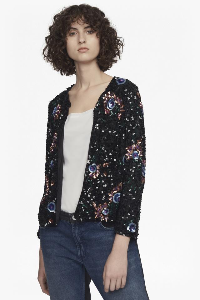 f8a64bf3cd2 Valerie Sparkle Sequin Jacket | Endource
