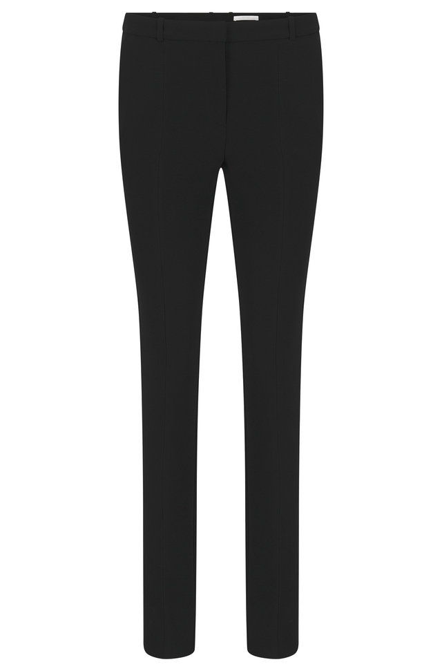 Regular-fit satin trousers with jacquard pattern BOSS Buy Cheap Footlocker Pictures yvVhpx