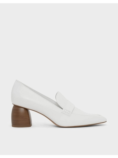d06ac4598c6 Sculptural Heeled Loafers
