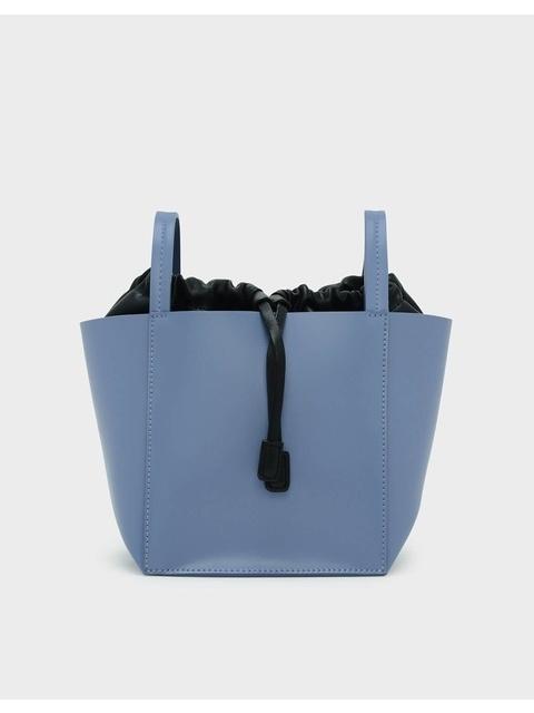 3dddb9f0c4 Drawstring Detail Crossbody Bag