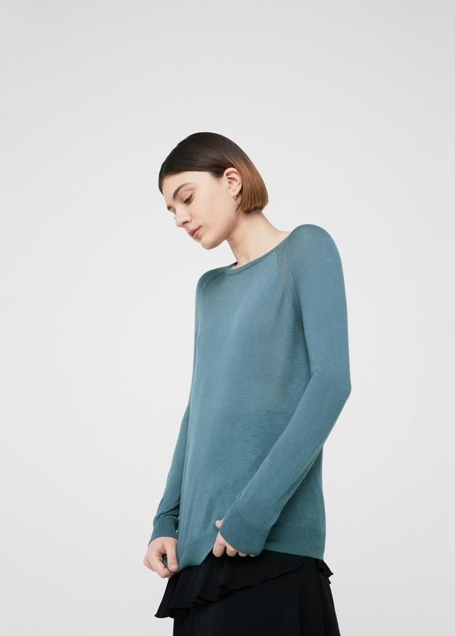 Decorative Seam Sweater